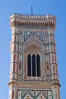 Florence, Firenze, Bell Tower, Campanile, Tower, Duomo