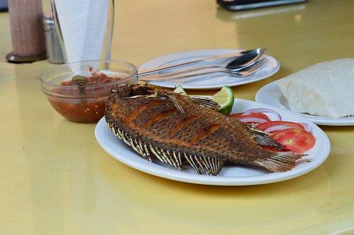 Fried Fish, Kenyan Food, Nairobi Restaurant