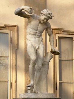 Dancing Satyr, 1776, André Le Brun, Marble, Copy
