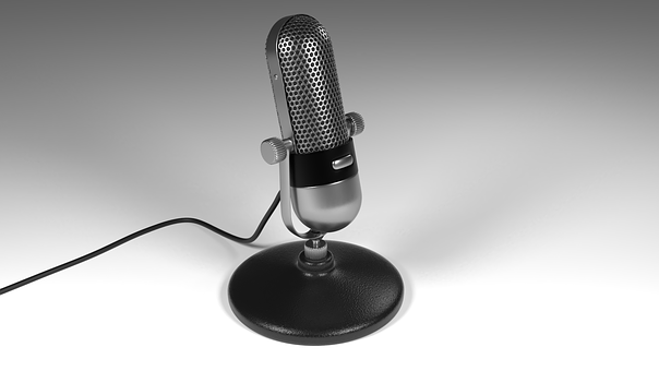 Micro-phone, Model, Microphone, 3d, 3d Model, Podcast