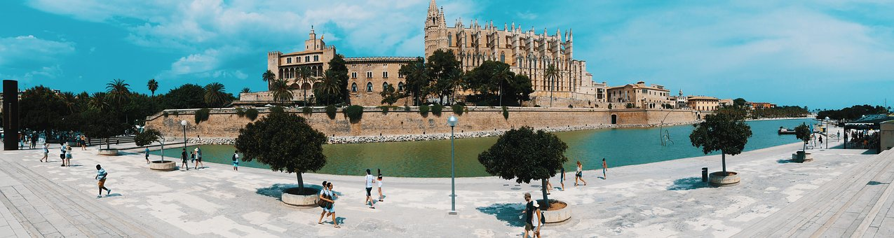 Mallorca, Church, Place Of Pilgrimage, Cathedral, Palma