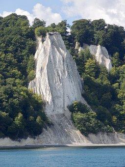 Rügen, Nature Park, White Cliffs, Baltic Sea, Rock