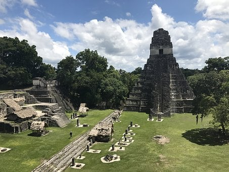 Tikal, Mayan, Ruins, Guatemala, Pyramid, Ancient