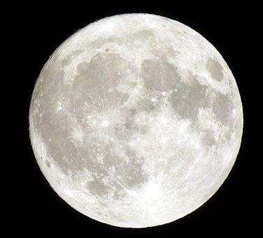 Full Moon, Moon, Night, Sky, Night Photograph