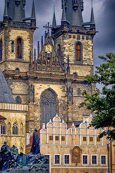 Architecture, The Cathedral, Church, Monument, Prague