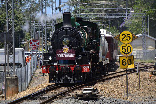 Train, Railway, Steam, Transportation, Travel, Railroad