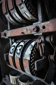 Texture, Canon, Rust, Petrol Pump, Old, Antique