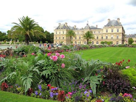 Paris, France, Landscape, Palace, Architecture