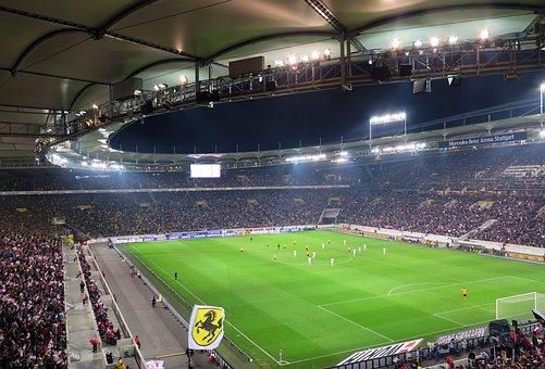 Stadium, Football, Arena, Mercdes Benz Arena, Stuttgart