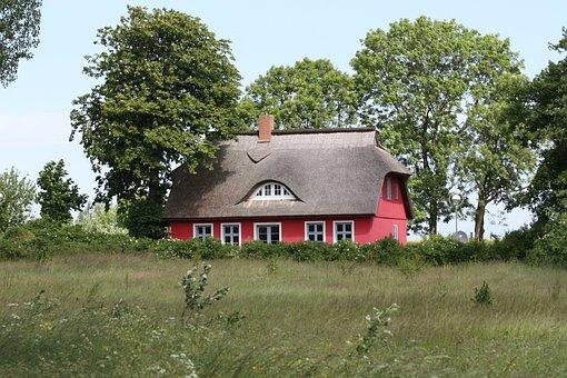 Rügen, Rügen Island, Baltic Sea, Thatched Roof