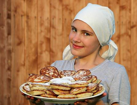 Pancakes, Cook, Cakes, Hash Browns, Shawl, Bakery, Shop