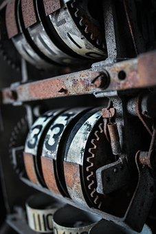 Texture, Canon, Rust, Petrol Pump, Old, Antique