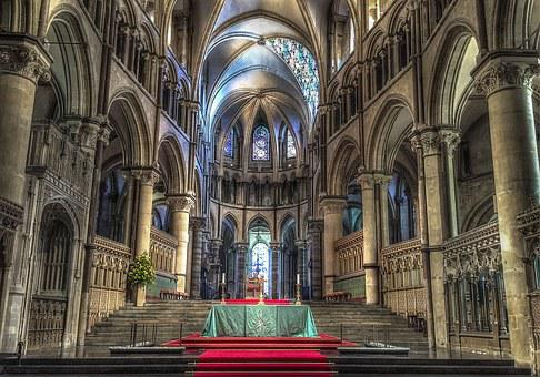 Church, Canterbury Cathedral, Cathedral, Historic, Uk