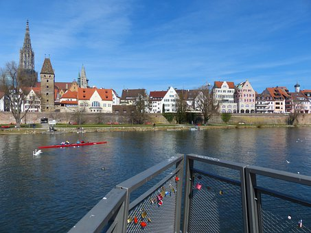 Ulm, Danube, Ulm Cathedral, City, City View