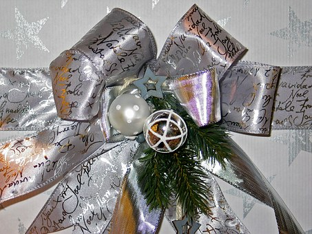 Loop, Christmas, Gift, Decoration, Packaging, Packed