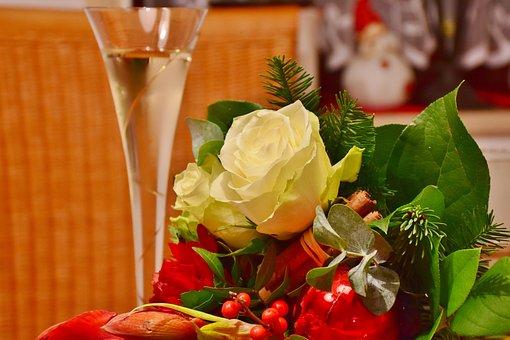 Flowers, Bouquet, Roses, Floral Arrangement, Colorful