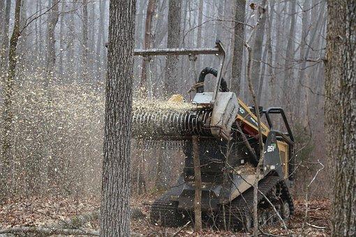 Daf, Forestry Industrial Shredder, Brush Cutters