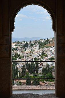Granada, Alhambra, Generalife, Spain, Architecture
