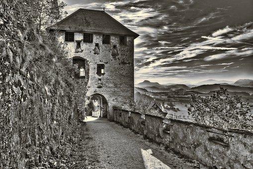 Castle, Hochosterwitz, Carinthia, Austria, Fortress