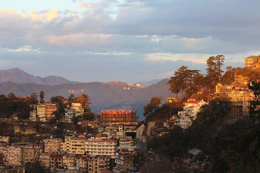 Shimla, Himachal, India, Mall Road