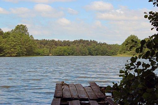 Lake, Web, Mecklenburg Western Pomerania, Lake District