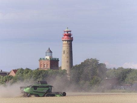 Lighthouse, Rügen, Harvest, Cape Arkona