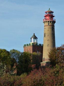 Rügen, Island, Cape Arkona, Rügen Island, Lighthouse