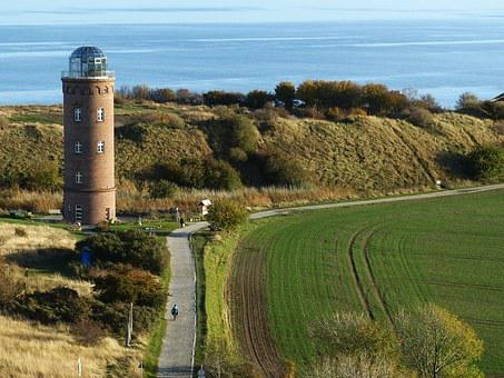 Rügen, Island, Rügen Island, Lighthouse, Baltic Sea