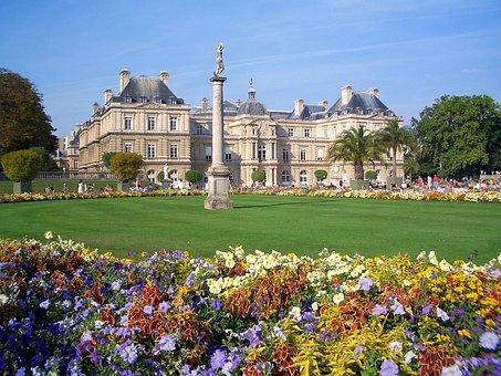 Jardin Du Luxembourg, Paris, France, Palace, Building