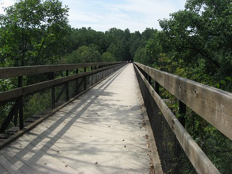Bridge, Overpass, Pedestrian, Crossing, Way, Walkway