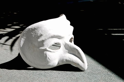 Mask, Pulcinella, Pulcinella Mask, Nose, Theater