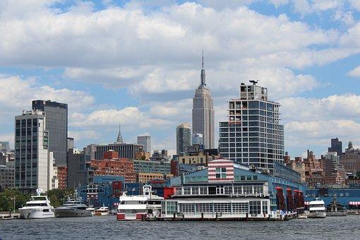New York, Rio, Vista, Urban, Cityscape, Architecture