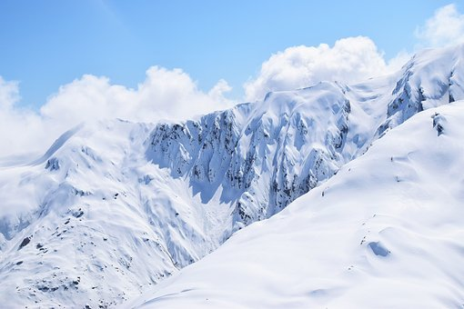 Mountains, Snowy, Peaks, Mountain Top, Scenery, Top