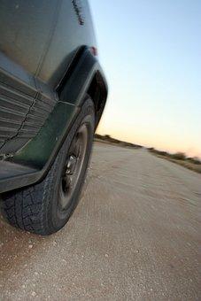 Drive, Automobile, Dirt Road, Karoo, Vehicle, Car