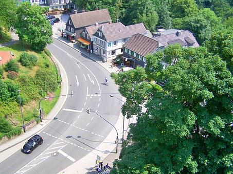 Road, Curve, Arch, Village, Village Street, Traffic