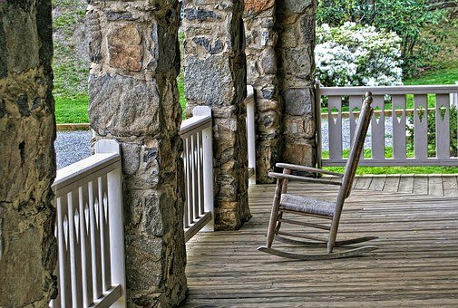 Porch, Rocking Chair, Wood, Relax, Front Porch, Leisure