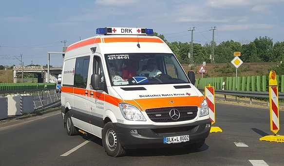 Ambulance, Vehicle, Auto, Transport System, Road, Truck