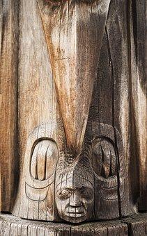 Wood, Totem, Ancient Civilizations, Native, Canada