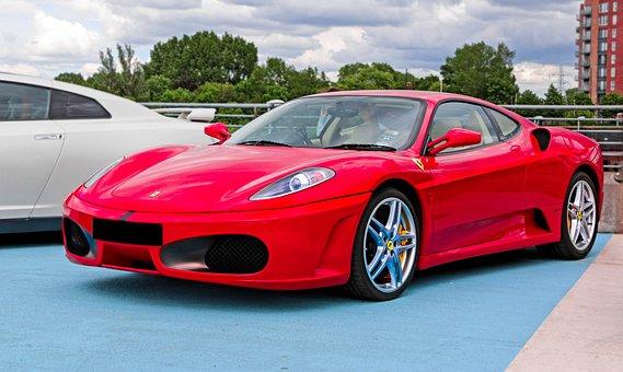 Ferrari F430, Supercar, Car, Automobile, Design