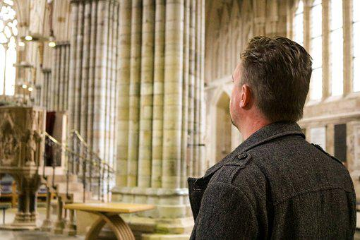 Exeter, Cathedral, England, Believer, Christian
