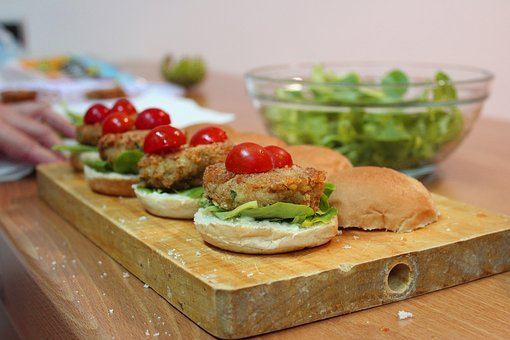 Recipes, Burgers, Vegetables, Burger, Food, Chickpeas