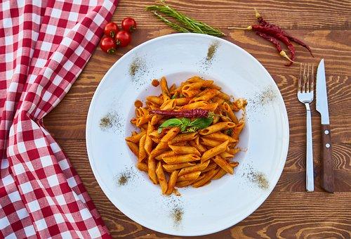 Pasta, Italian, Close-up, Food Photo, Backgrounds