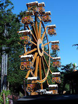 Ferris Wheel, Fun Park, Entertaining, Amusement