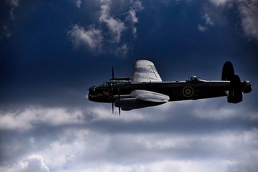 Lancaster Bomber, Airforce, World War 2