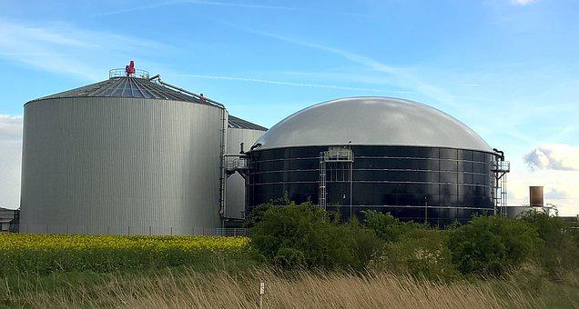 Biogas, Container, Lazy, Natural Gas, Produce