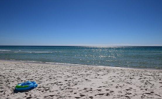 Lonely Beach, Nature, Sand, Beach, Travel