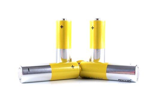 Battery, Metal, Power, Electricity, Energy, Alkaline