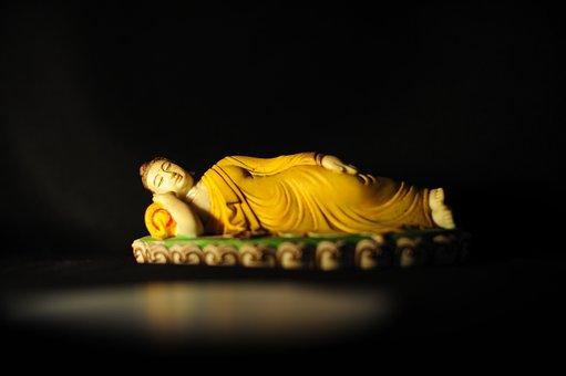 Passing, Buddha, Enlightenment, Buddhism, Religion