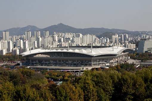 World Cup Stadium, Sangam, Republic Of Korea, Sky Park