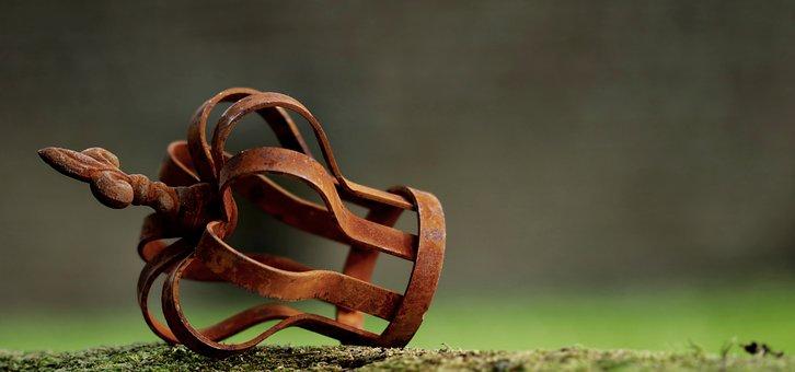Crown, Moss, Head Ornament, Rust, Rust Crown, Rusty